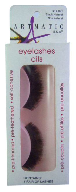 Artmatic Eyelashes Cils Black Natural 001 buy online in Pakistan best price