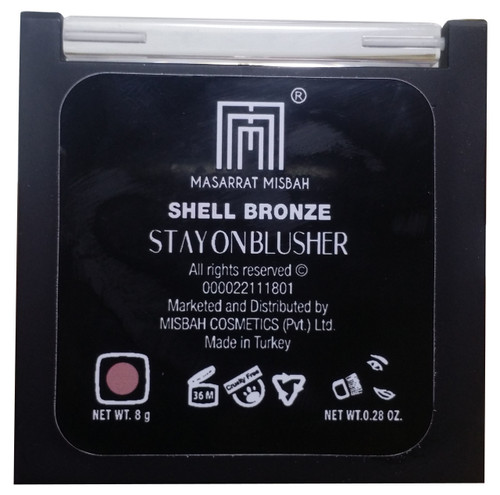 Masarrat Misbah Stay On Blusher Shell Bronze  best price
