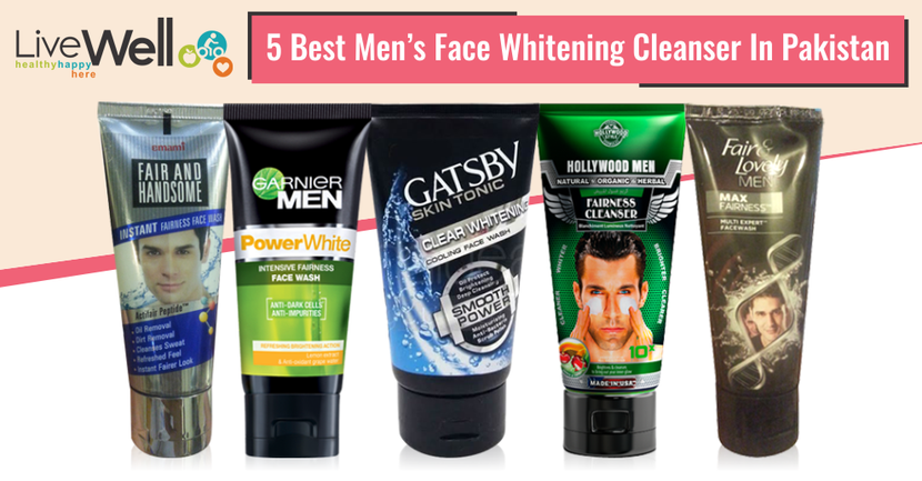 5 Best Men's Face Whitening Cleanser In Pakistan