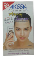 Akssa Cosmetic Whitening Cleanser 20ML (Front)