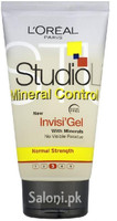 L'oreal Paris Studio Line Mineral Control Invisi Gel for Normal Strength
