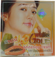 White Gold Whitening Cream With Papaya Extracts