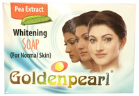 Golden Pearl Pea Extract Whitening Soap for Normal Skin 100 Grams