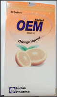 OEM Orange Powder Sachet 20 Sachets