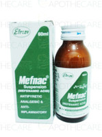 Mefnac Suspension (Mefenamic Acid) 60 ML