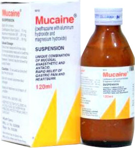 Mucaine Suspension Syrup 120 ML - LiveWell.PK