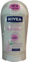 Nivea Natural Fairness 48h Roll-On Deodorant (Front)