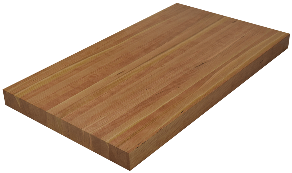 Character Cherry Edge Grain Butcher Block Countertop