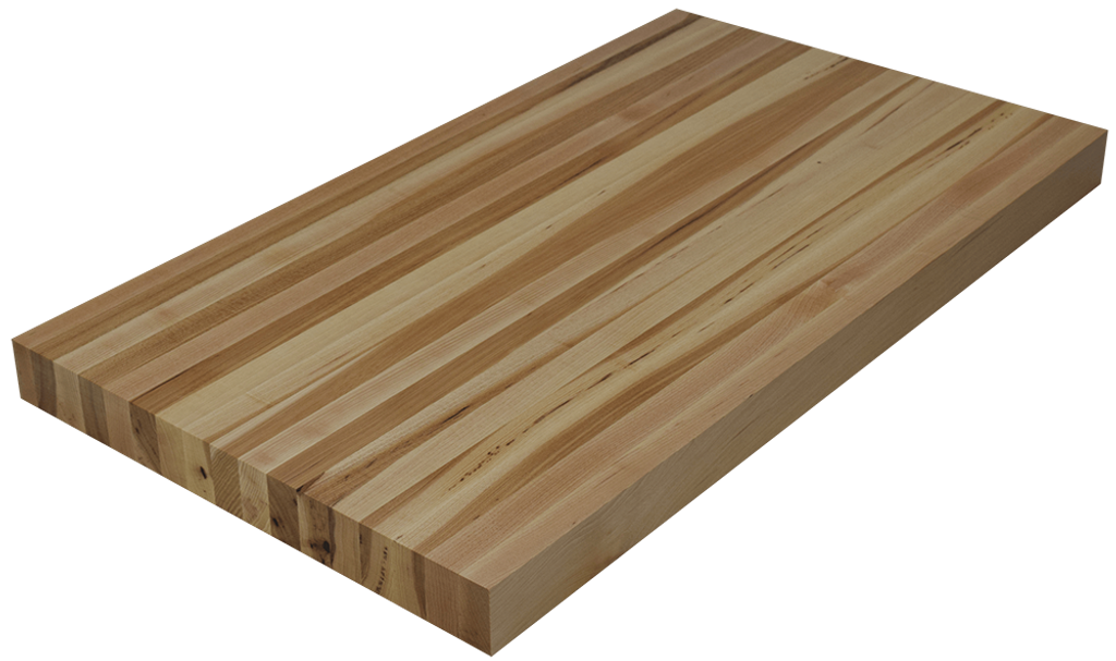 hickory edge grain butcher block countertop hardwood lumber company. Black Bedroom Furniture Sets. Home Design Ideas
