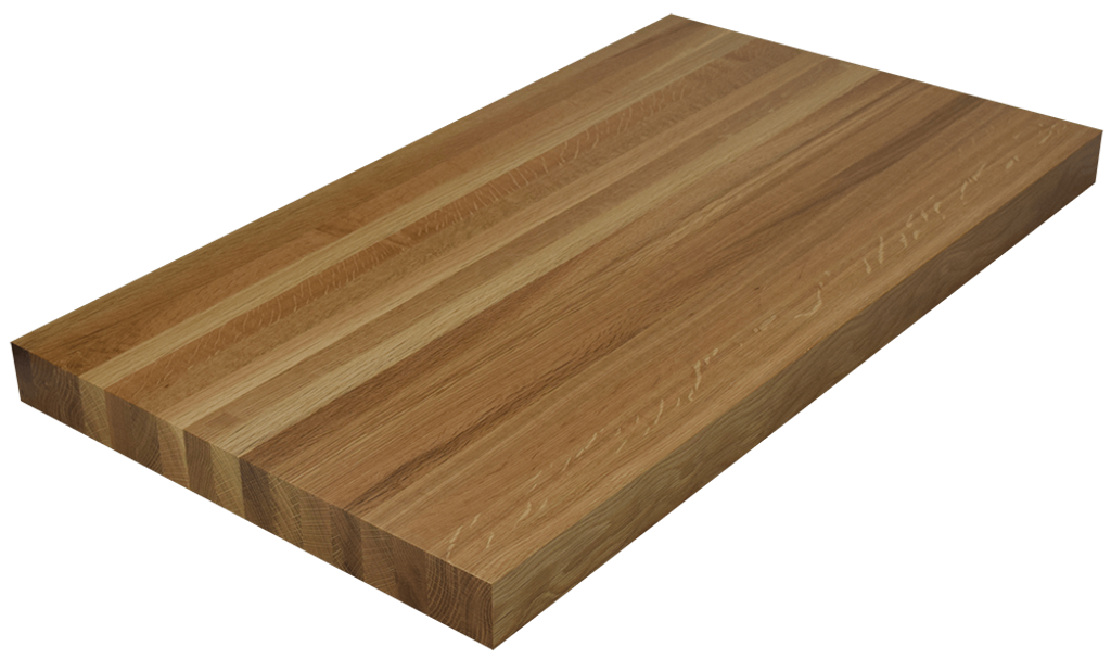 White Oak Edge Grain Butcher Block Countertop