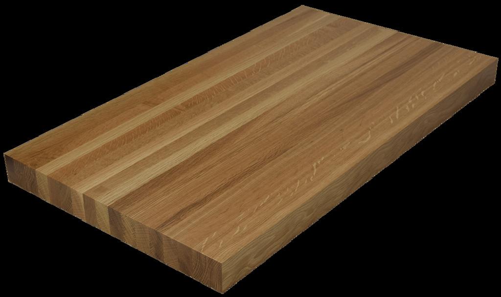 white oak edge grain butcher block countertop