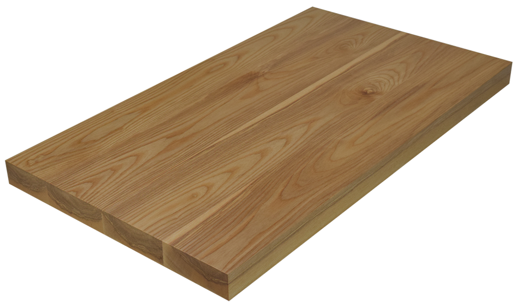 Awesome Ash Wide Plank (Face Grain) Countertop