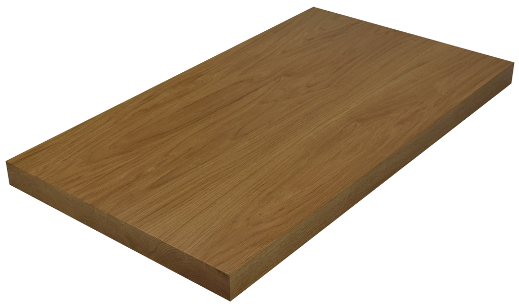 White oak wide plank face grain countertop hardwood for Plank blocks