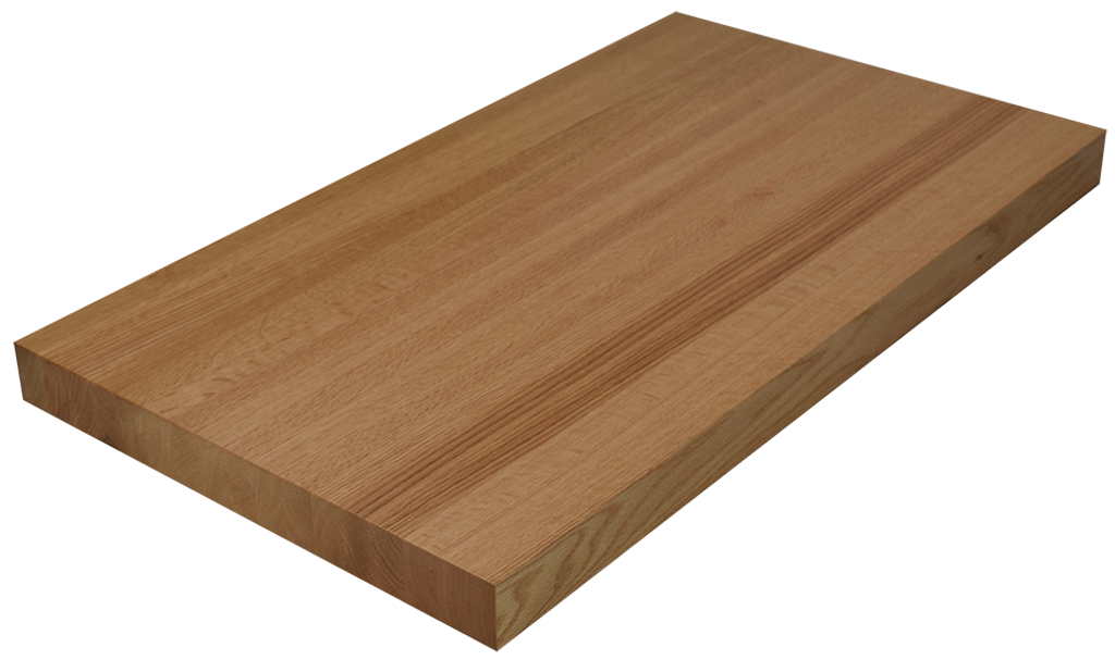 Red Oak Edge Grain Butcher Block Countertop