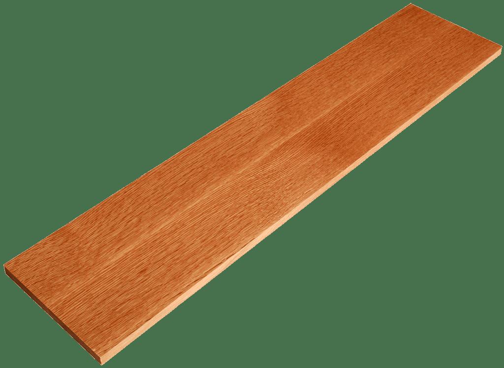 Rift Sawn Red Oak Stair Riser