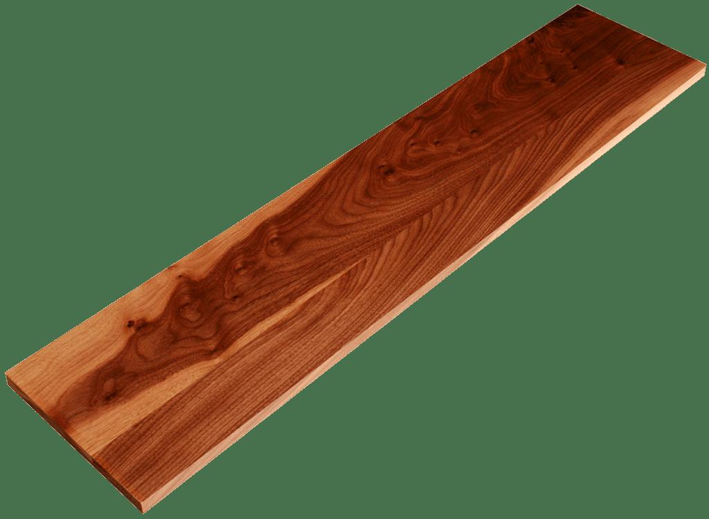 Character Walnut Stair Riser