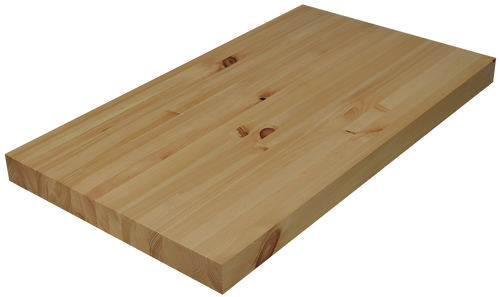 Knotty Pine Edge Grain Butcher Block Countertop