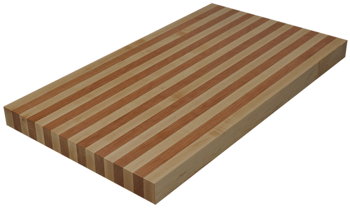 Mixed Maple/Cherry Edge Grain Butcher Block Countertop