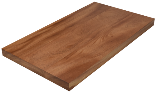 African Mahogany Wide Plank (Face Grain) Countertop