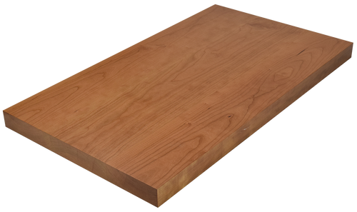 Clear Cherry Wide Plank (Face Grain) Countertop