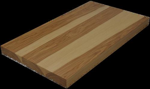 Hickory Wide Plank (Face Grain) Countertop