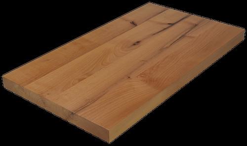 Knotty Alder Wide Plank (Face Grain) Countertop