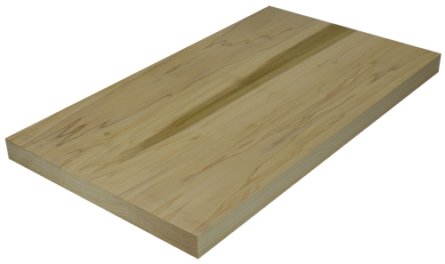 Poplar Wide Plank (Face Grain) Countertop