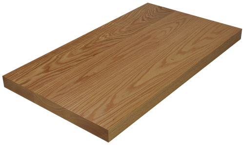 Red Oak Wide Plank (Face Grain) Countertop