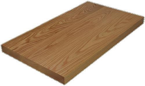Red Oak Wide Plank (Face Grain) Countertop