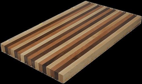 Mixed Maple/Cherry/Walnut Edge Grain Butcher Block Countertop
