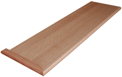 Quarter Sawn Red Oak Stair Tread
