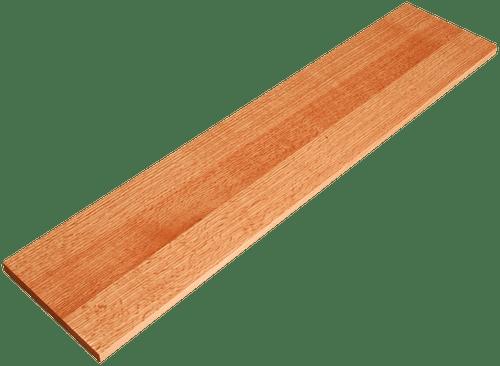 Quarter Sawn Red Oak Stair Riser