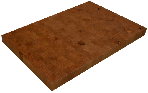 Knotty Alder End Grain Butcher Block Countertop