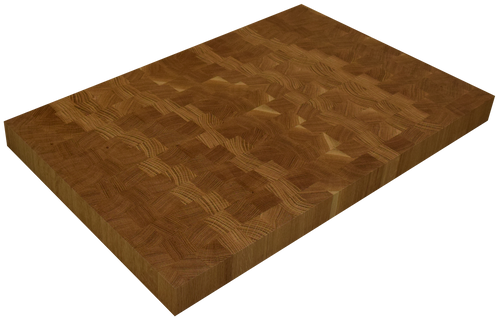 White Oak End Grain Butcher Block Countertop