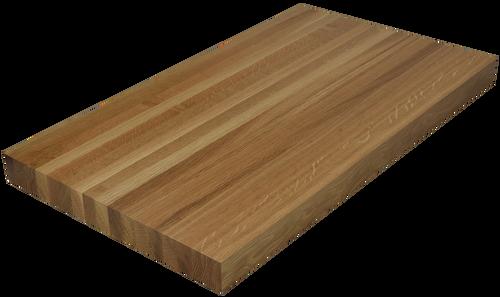 white oak edge grain butcher block countertop hardwood lumber company. Black Bedroom Furniture Sets. Home Design Ideas