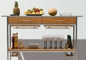 Storage, Serving Carts & Susans