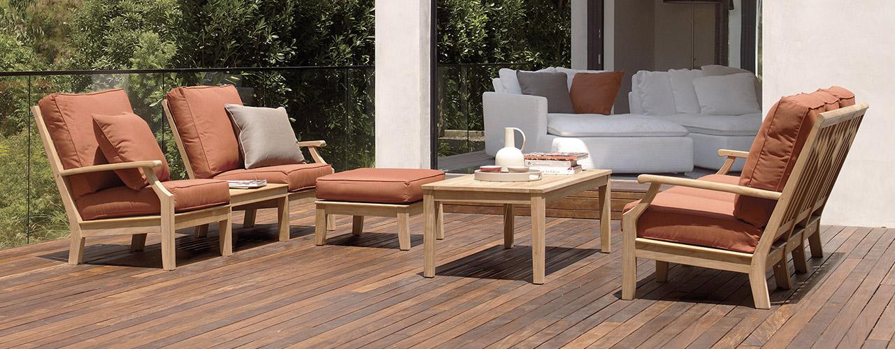 Gloster Cape Classic Teak Outdoor Furniture Authenteak