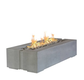 Dekko Avera Rectangular Fire Pit