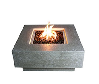 Elementi Manhattan Fire Pit Table