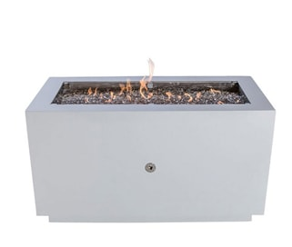 Bentintoshape 47in. x 21in. Rectangular Fire Pit