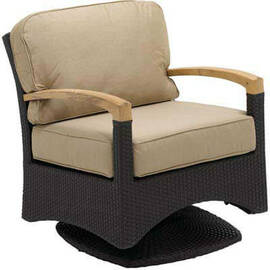 Gloster Plantation Swivel Glider Armchair