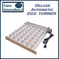 FARM INNOVATORS 3200 CHICKEN POULTRY 42 LARGE EGG INCUBATOR AUTOMATIC TURNER