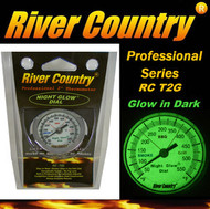 "2"" River Country 'NIGHT GLOW' Adjustable BBQ, Grill, Smoker & Pit Thermometer (RC-T2G)"