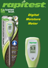 RAPITEST DIGITAL MOISTURE SOIL FLOWER VEGETABLES TEST METER GARDEN PLANT TESTER
