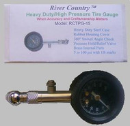 Heavy Duty / High Pressure Tire Pressure Gauge