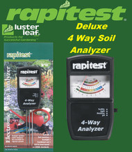 Rapitest / Luster Leaf  4 Way Deluxe Soil Analyzer / Tester