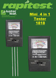 Rapitest / Luster Leaf   4 Way Mini Soil Tester Analyzer