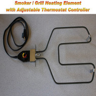 Electric Smoker / Grill Add On / Replacement Heating Element & Controller