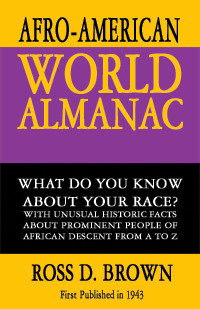 Front cover: The Afro-American World Almanac