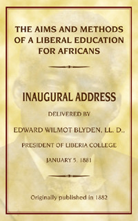 Front cover: The Aims and Methods of a Liberal Education for African